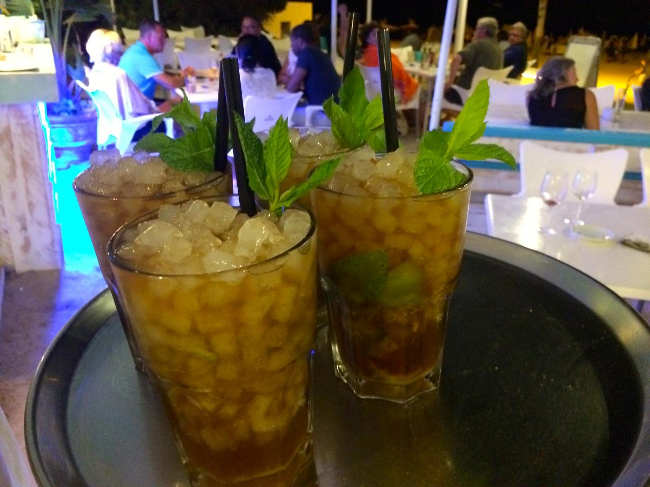 Lima mojito, the traditional