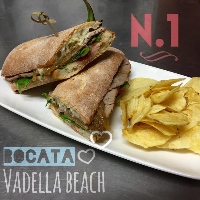Bocata Vadella Beach