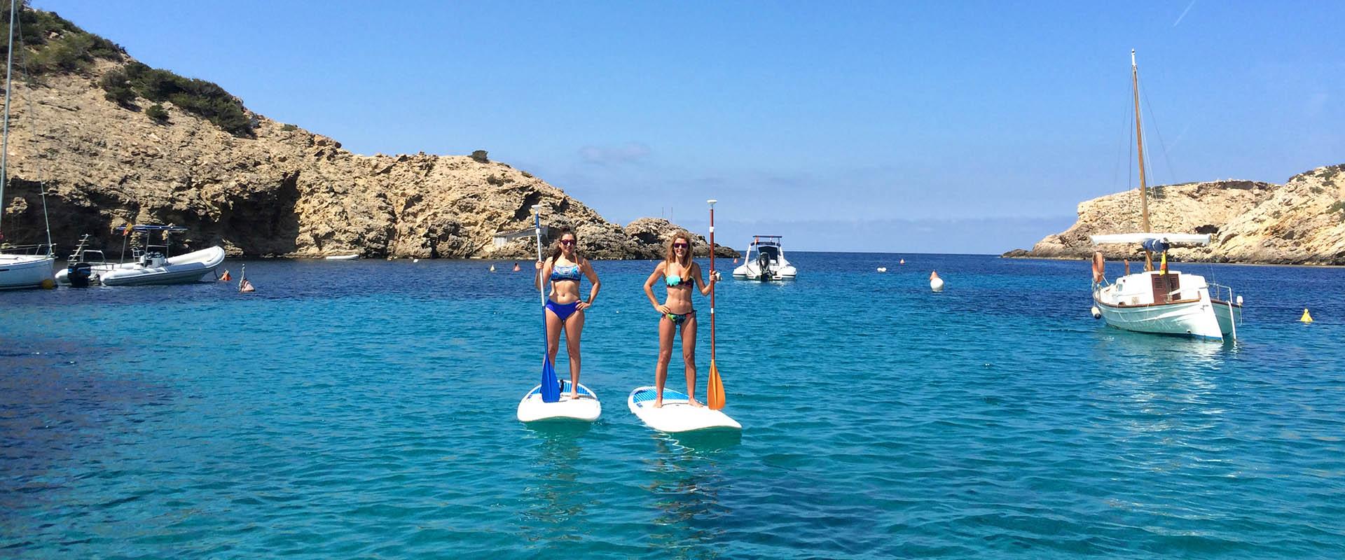SUP Yoga / Paddle Surf Ibiza